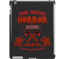 Horror Camp iPad Case/Skin