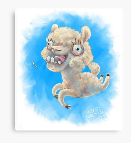 Alpacan Do It! Canvas Print