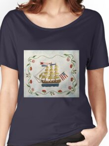 Tall Ship Women's Relaxed Fit T-Shirt
