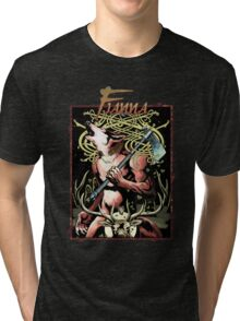 Apocalypse Tribe: Fianna Revised Tri-blend T-Shirt