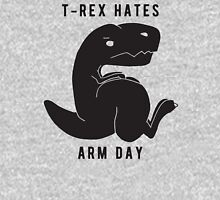 T-rex hates arm day Unisex T-Shirt