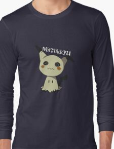 Pokemon Sun Moon Mimikkyu Long Sleeve T-Shirt