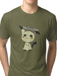Pokemon Sun Moon Mimikkyu Tri-blend T-Shirt