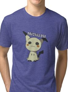 Pokemon Sun Moon Mimikkyu Tri-blend T-Shirt