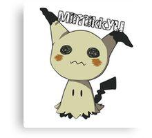 Pokemon Sun Moon Mimikkyu Canvas Print