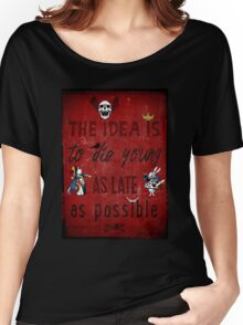 Die Young Women's Relaxed Fit T-Shirt