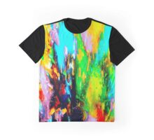 Color Party Graphic T-Shirt