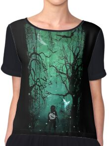 Twilight Forest Chiffon Top