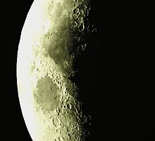 Dark side of the Moon by purelightimages