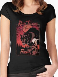 Apocalypse Tribe: Red Talons Revised Women's Fitted Scoop T-Shirt