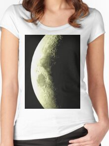 Dark side of the Moon Women's Fitted Scoop T-Shirt