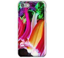Rainbow Chard iPhone Case/Skin