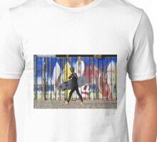 Surfing colors Unisex T-Shirt