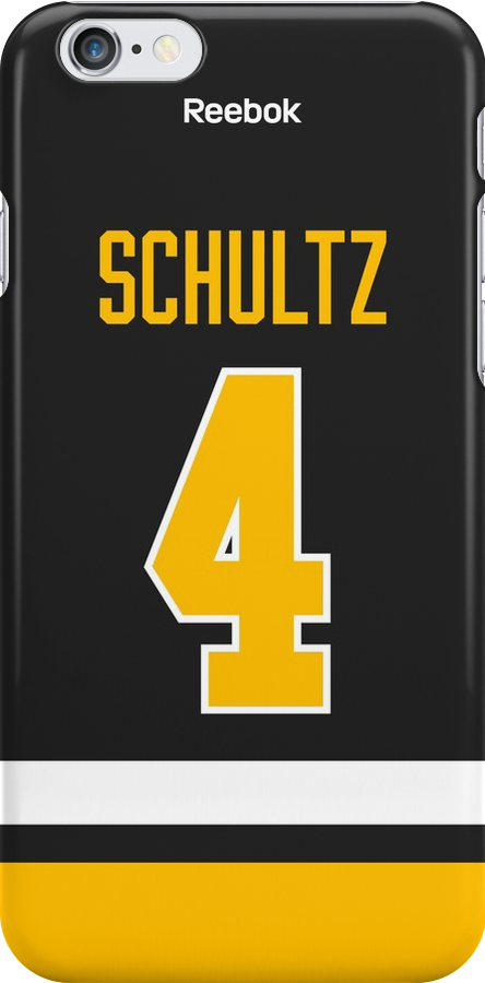 Pittsburgh Penguins Justin Schultz Jersey Back Phone Case by Russ Jericho