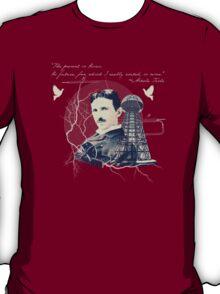 Nikola Tesla - with Quote  T-Shirt