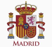 Madrid Shield of Spain Kids Tee
