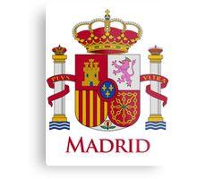 Madrid Shield of Spain Metal Print