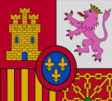 Madrid Shield of Spain Sticker