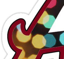 Alabama Roll Tide Lights Sticker