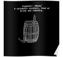 Dwarven Engineering Poster