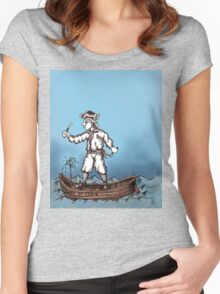 Honest Pirate Women's Fitted Scoop T-Shirt