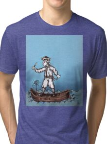 Honest Pirate Tri-blend T-Shirt