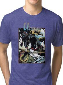 Apocalypse Tribe: Uktena Revised Tri-blend T-Shirt