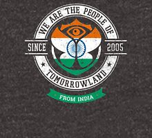 People of Tomorrowland Flags logo Badge - India - Inde - Indian Unisex T-Shirt