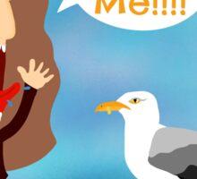 Skerries Seagull attack  Sticker