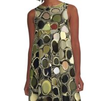 PEPPLES-ON THE PATHWAY OF LIFE A-Line Dress