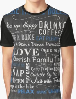 Lake House Rules Graphic T-Shirt