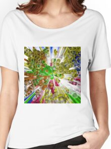 Circles in perspective 3 Women's Relaxed Fit T-Shirt