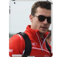 Jules Bianchi iPad Case/Skin