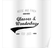 Glasses and Wonderboy Poster
