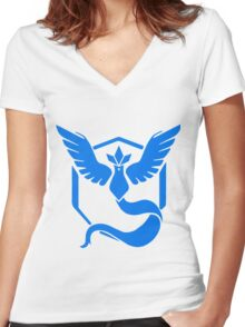 Pokemon Go Women's Fitted V-Neck T-Shirt