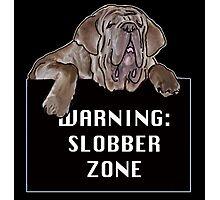 Neopolitan Mastiff Slobber Zone Photographic Print
