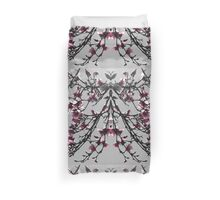 Butterfly Magnolia Duvet Cover