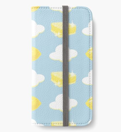 Lemon Bars and Clouds iPhone Wallet/Case/Skin