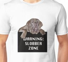 Neopolitan Mastiff Slobber Zone Unisex T-Shirt