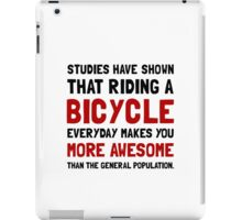 Bicycle More Awesome iPad Case/Skin