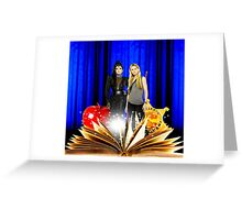 Swan Queen (Once upon a time) Greeting Card