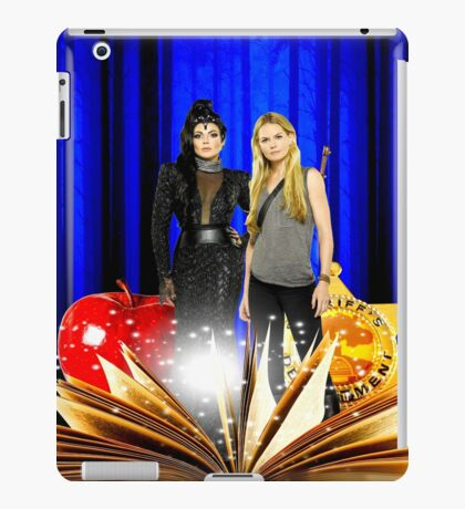 Swan Queen (Once upon a time) iPad Case/Skin