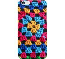 Granny Crochet Throw iPhone Case/Skin