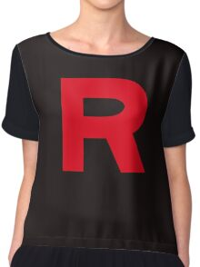 Team Rocket Chiffon Top
