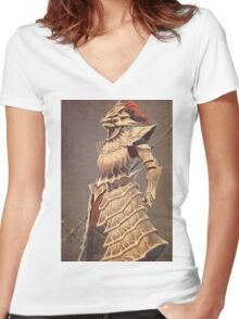Ornstein the Dragonslayer Women's Fitted V-Neck T-Shirt