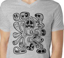 Buuuu!!!! Mens V-Neck T-Shirt