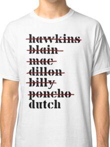 Dutch is Last - Predator Classic T-Shirt