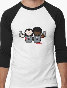 Jules and Vincent- Pulp Fiction Men's Baseball ¾ T-Shirt