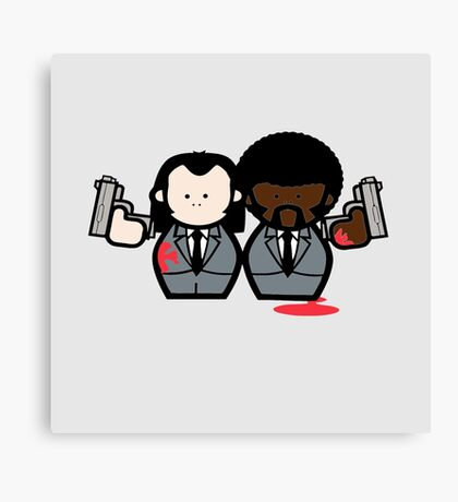 Jules and Vincent- Pulp Fiction Canvas Print