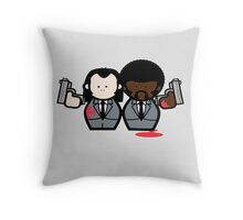 Jules and Vincent- Pulp Fiction Throw Pillow